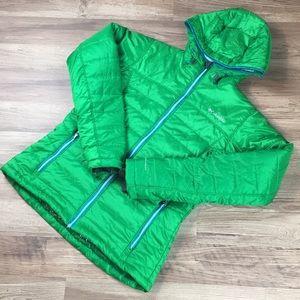 Columbia Omni-Heat parka, green, sz M